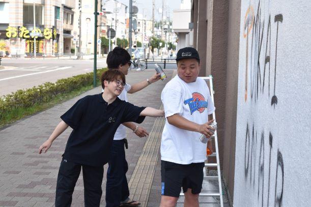 岡崎シビコで撮影する東海オンエア