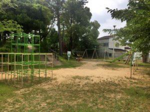 柱公園の遊具