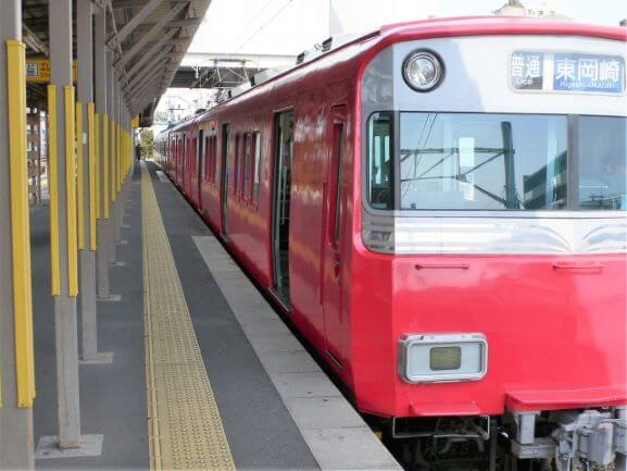 岡崎市内の移動手段(電車)