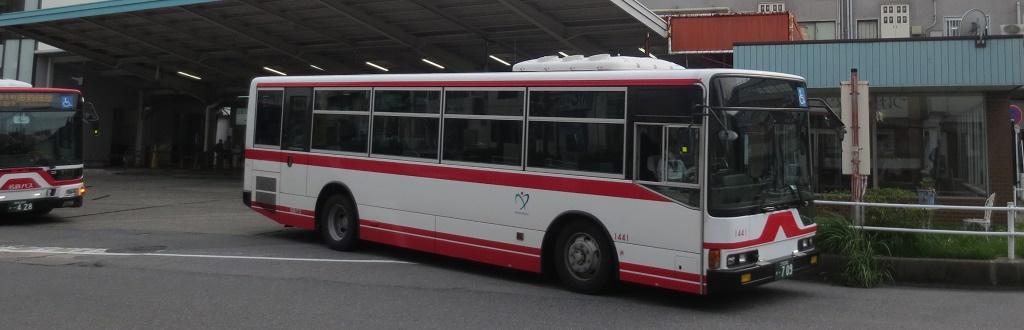 岡崎市内の移動手段(バス)