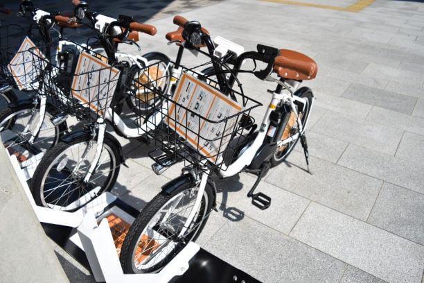 岡崎市内の移動手段(自転車)