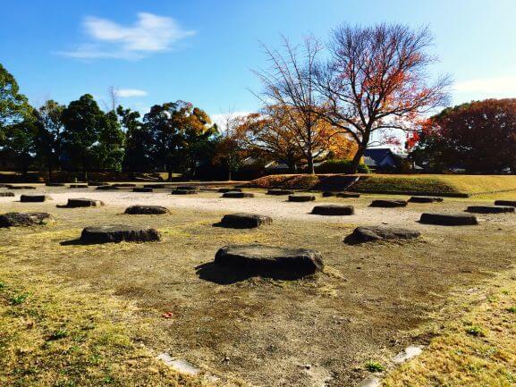 北野廃寺の城跡