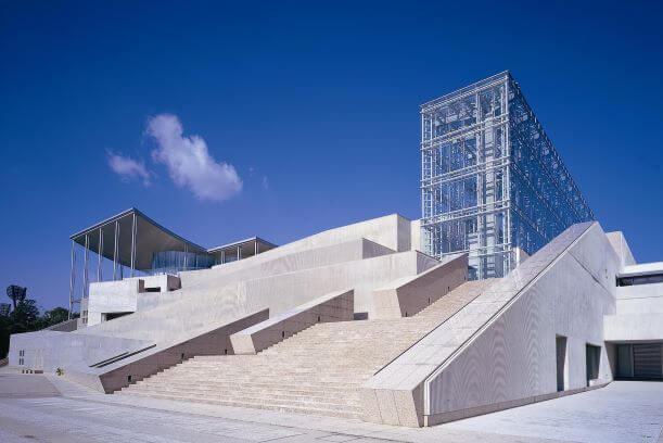 岡崎美術博物館の外観