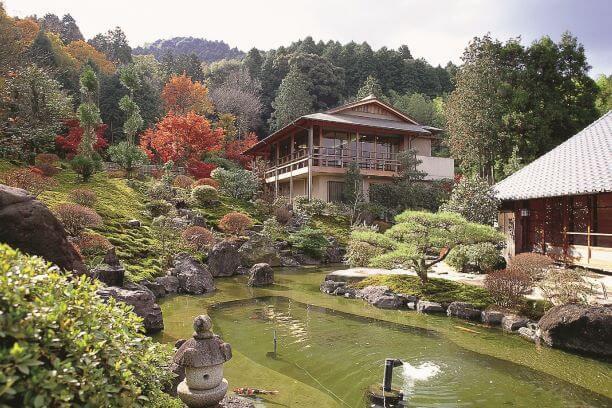 奥殿陣屋の秋景色