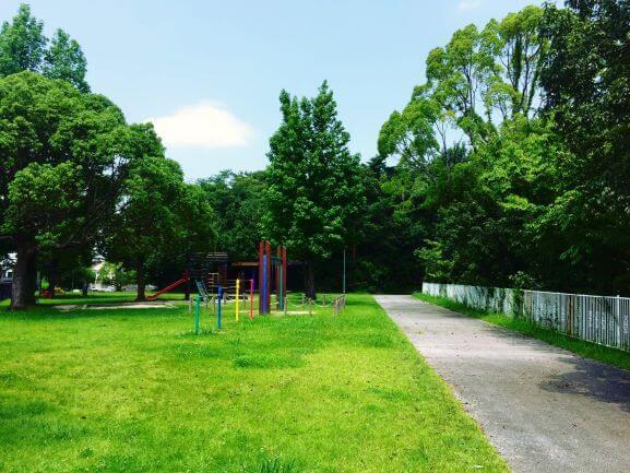 大谷公園にある遊具