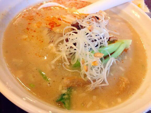 三国志の担々麺