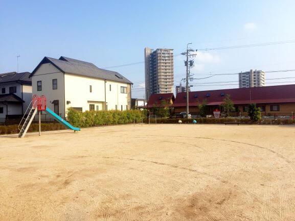 羽根東わかみや公園の遊具