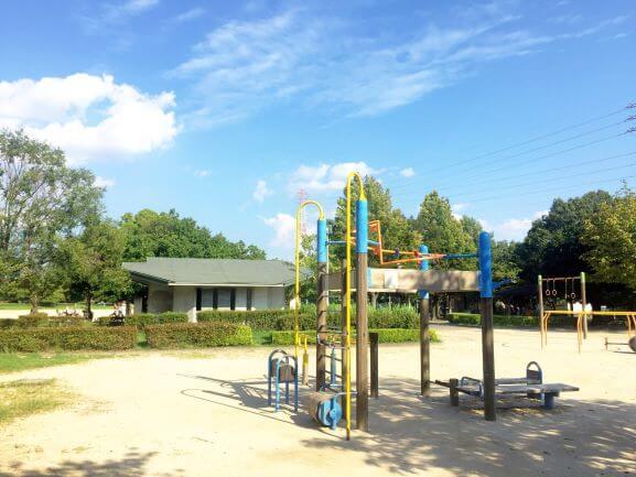 矢作公園の遊具