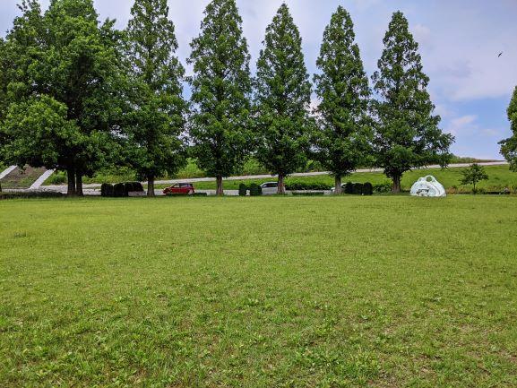 堤下公園の広場