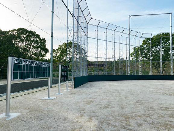 龍北総合運動場の野球場
