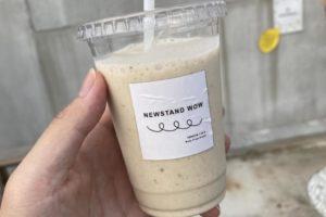 NEWSTAND WOWのバナナジュース(ミルク)