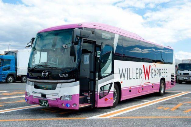 WILLER EXPRESSのバス